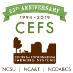 Center for Environmental Farming Systems Logo