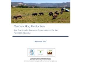 Outdoor Hog Production resource