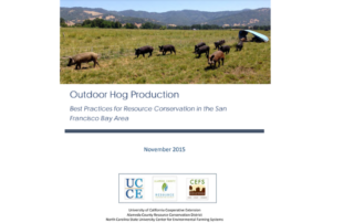 Outdoor Hog Production resource