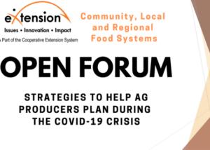 Open Forum January 2021