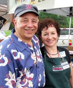 Arthur and Anya Gordon at the Farm to Fork Picnic