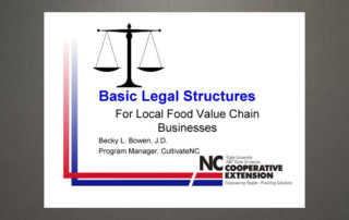 Basic legal structures