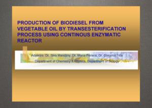 biodiesel-production-presentaion