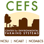Center for Environmental Farming Systems Retina Logo