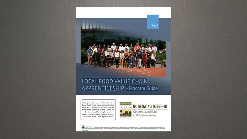 Local Food Supply Chain Apprenticeship: A Program Guide