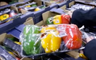 Packing produce